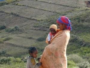 Malagasy Woman & Children