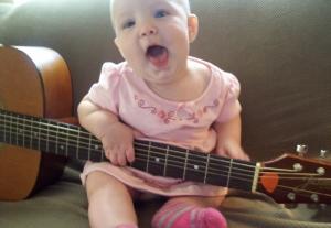 Pickin' and singin'