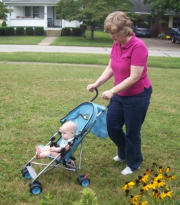 Stroller Ride with Grandma