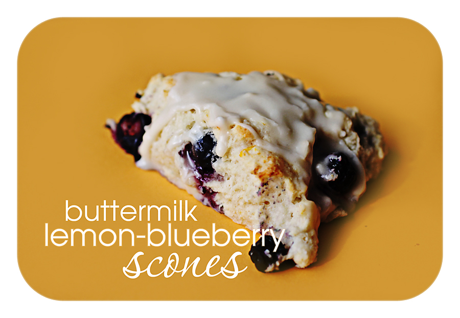 how to make buttermilk blueberry scones